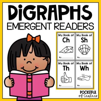 CH, SH, TH, WH Digraphs Color Books BUNDLE