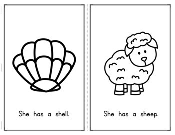 Digraphs Emergent Readers: CH, SH, TH, WH