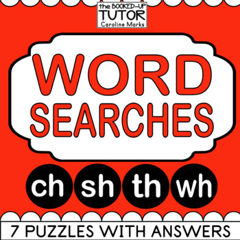 {ch sh th wh} {digraphs worksheets} {kinder word search}