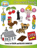 CH Word Blends Clipart {Zip-A-Dee-Doo-Dah Designs}