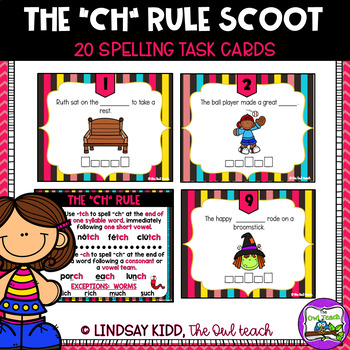 CH and TCH Spelling Rule