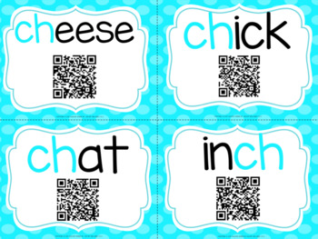 CH Task Cards with QR Codes