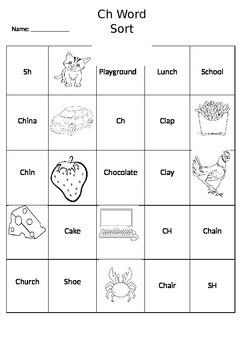 CH word sort