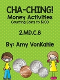 CHA-CHING Counting Coins to $1.00