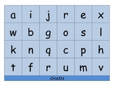 CHAIN - ABC letter and sound matching - based on the game Sequence for Kids