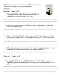 CHAINS Novel Comprehension Questions Ch 1-3