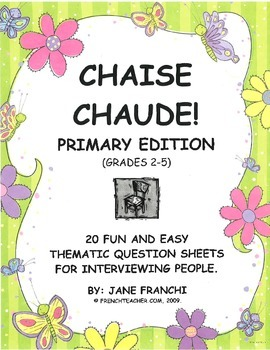 CHAISE CHAUDE - PRIMARY