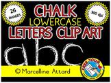 CHALKBOARD CLIPART LETTERS (ALPHABET LOWERCASE)
