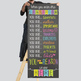 bright CHALK - Classroom Decor: LARGE BANNER, When you enter this classroom