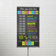 bright CHALK - Classroom Decor: SMALL BANNER, When you enter this classroom