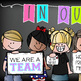 CHALK {melonheadz} - Classroom Decor: LARGE BANNER, In Our Class - BRIGHTS