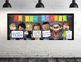 CHALK {Melonheadz} - Classroom Decor: LARGE BANNER, In Our School - BOLD