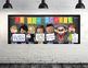 CHALK {melonheadz} - Classroom Decor: LARGE BANNER, In Our School - BOLD