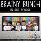 CHALK {Melonheadz} - Classroom Decor: LARGE BANNER, In Our School - BRIGHTS