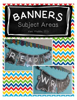 CHALK Subject Area Banners