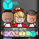 CHALK {melonheadz} - Classroom Decor:  LARGE BANNER, We are FAMILY