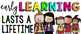 CHALK {melonheadz} - growth MINDSET - LARGE BANNER, Early LEARNING last a