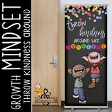 CHALK {melonheadz} - growth MINDSET - LARGE BANNER, Throw KINDNESS like confetti