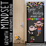 CHALK {melonheadz} - growth MINDSET - LARGE BANNER, Throw