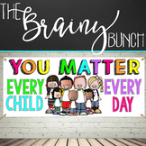 CHALK {melonheadz} - growth MINDSET - LARGE BANNER, You MA
