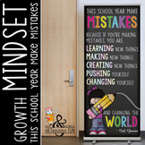 CHALK {melonheadz} - growth MINDSET - LG BANNER, This Scho