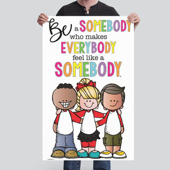 CHALK {melonheadz} - growth MINDSET - MED BANNER, Be a Somebody Who Makes