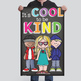 CHALK {melonheadz} - growth MINDSET - MED BANNER, It's COOL to be KIND