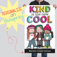 CHALK {melonheadz} - growth MINDSET - MED BANNER, KIND is the new COOL