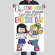 CHALK {melonheadz} - growth MINDSET - MED BANNER, One KIND word can change