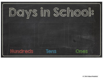 CHALKBOARD CALENDAR WALL SUPPLIES (so many options) Homeschool Friendly