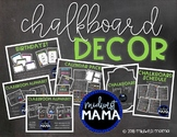 CHALKBOARD DECOR BUNDLE!
