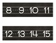 CHALKBOARD Industrial Chic Farmhouse style Classroom Decor NUMBER LINE 1-120