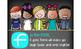 CHALK {melonheadz} - Classroom Decor: LARGE BANNER, FRIEND - BRIGHTS