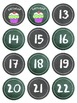 CHALKBOARDS CALENDAR LABELS AND NUMBERS ~ FREE!