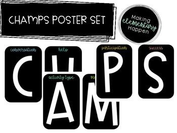 CHAMP Poster Set