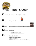 CHAMP YOUR STUDENTS ON THE BUS