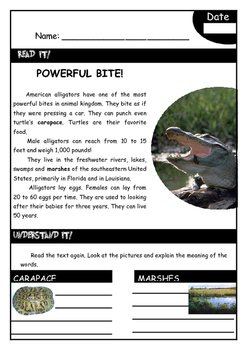 CHAMPIONS OF NATURE - nonfiction texts about ANIMALS
