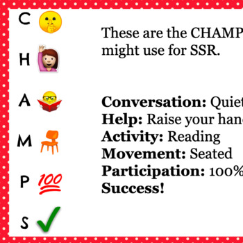 CHAMPS - A Brilliant Classroom Tool (and it's free!)