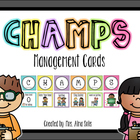 CHAMPS Management Cards