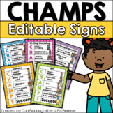 CHAMPS Behavior Management - Notebook Version (PBIS)