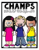 CHAMPS Behavior Management Poster