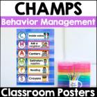 CHAMPS Behavior Management Signs (PBIS)