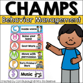 CHAMPS Classroom Behavior Management Signs (PBIS)