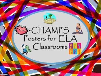 CHAMPS: Behavioral Expectations Posters