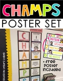 CHAMPS Posters (Bulletin Board Set)