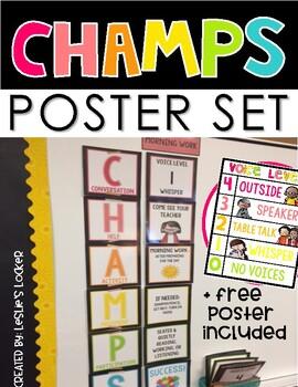 Champs Posters Bulletin Board Set By Leslie S Locker Tpt
