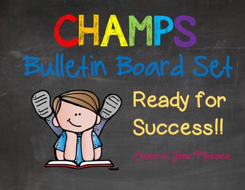 CHAMPS Bulletin Board Set