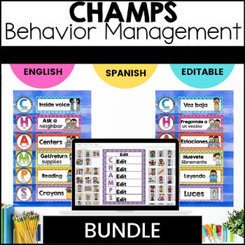 CHAMPS Bundle - English/Spanish/Notebook