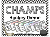 CHAMPS CLIP CHART HOCKEY THEME {Editable}