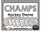 CHAMPS CLIP CHART HOCKEY THEME {Editable}
